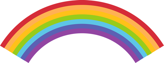 Rainbow Backgrounds u0026middot; Rainbow Backgrounds u0026middot; Weather Clip Art