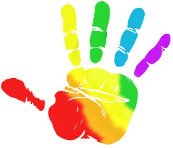 Rainbow Hands Clipart-Rainbow hands clipart-17