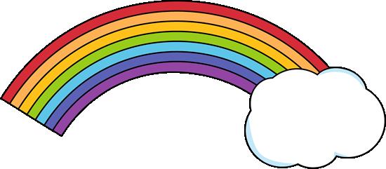Rainbow with a Cloud