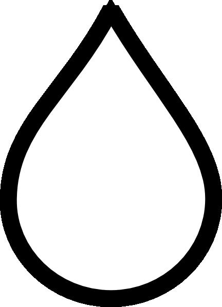 raindrop clipart - Raindrop Clip Art