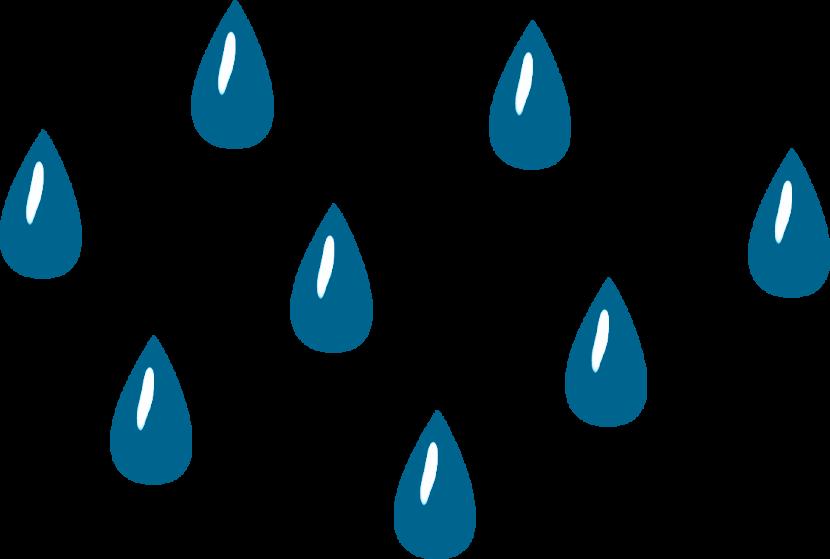 Raindrop Clip Art - Clipart Raindrops