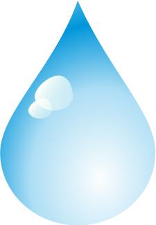 Free Raindrop Clipart