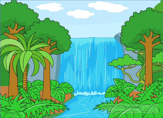 Rainforest clipart 2
