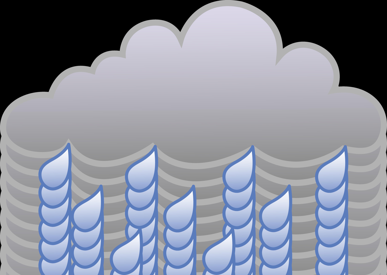 Rain cartoon. Rainy clip art