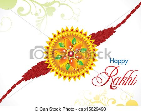 Abstract Raksha Bandhan Rakhi - Csp15629-abstract raksha bandhan rakhi - csp15629490-1