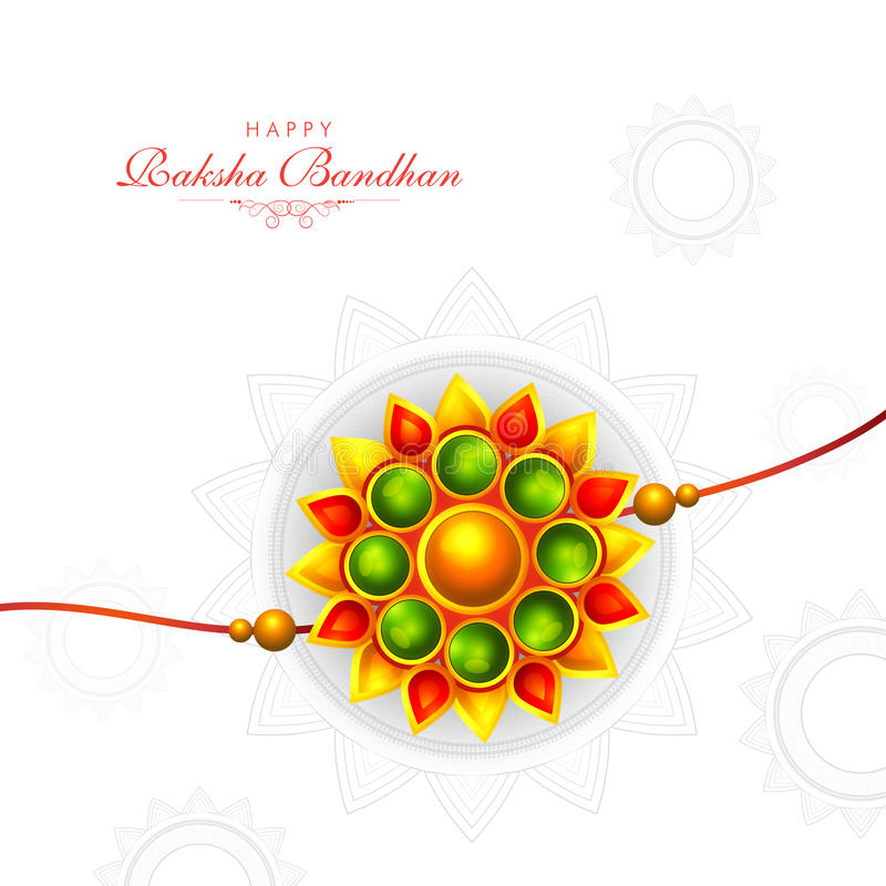 Download Greeting Card With Rakhi For Ra-Download Greeting Card With Rakhi For Raksha Bandhan. Stock Illustration -  Illustration of colourful,-8