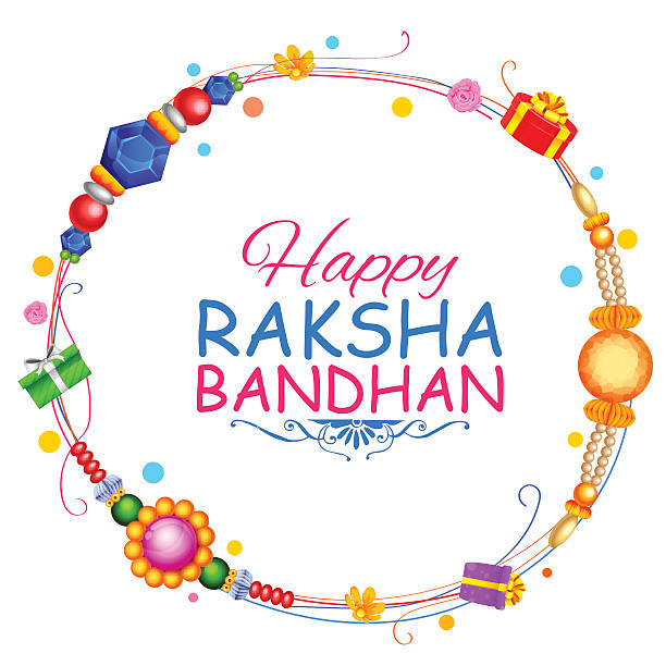 Rakhi Stock Illustrations u20