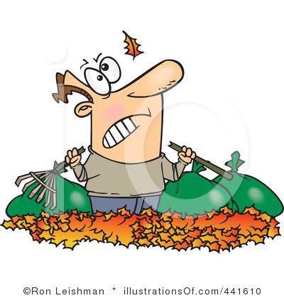 Raking Leaves Clipart Black And White Ro-Raking Leaves Clipart Black And White Royalty Free Raking Leaves-17