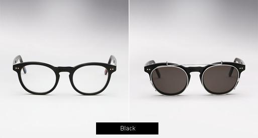 ... Randolph Engineering X Michael Basti-... Randolph Engineering X Michael Bastian, JD Clip On sunglasses - Black ...-15
