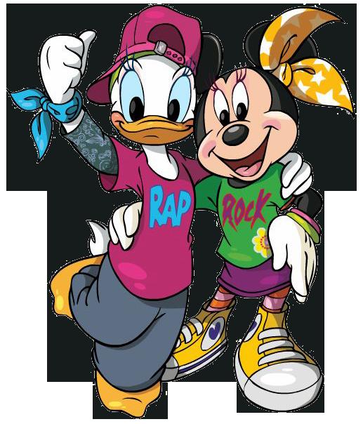 Minnie u0026 Daisy BFF Clipart