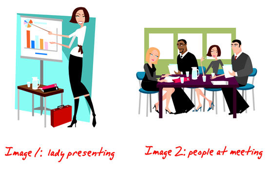 rapid elearning edit clip art demo PowerPoint
