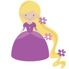 Rapunzel. Rapunzel Clip Art