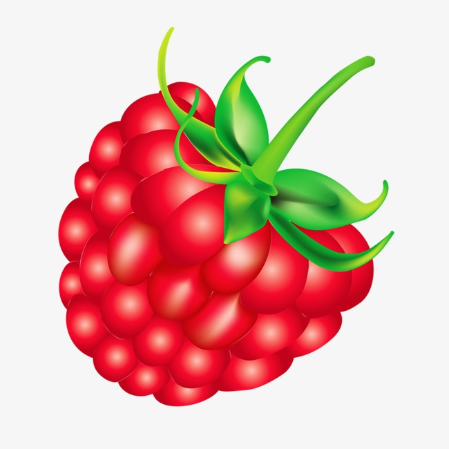 raspberry, Creative, Cartoon, Hand Painted PNG Image and Clipart