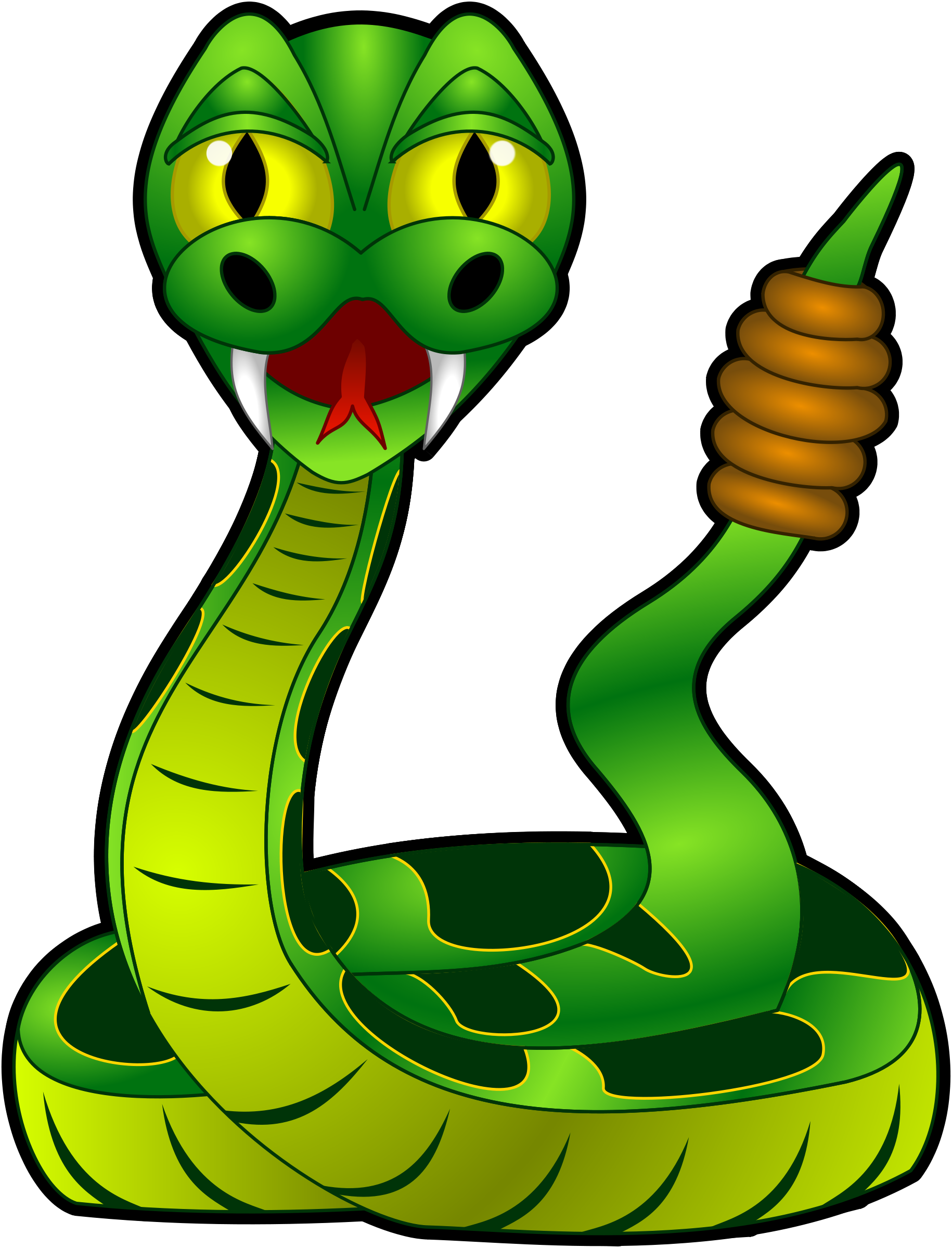 Rattle Snake Clip Art-rattle snake clip art-5