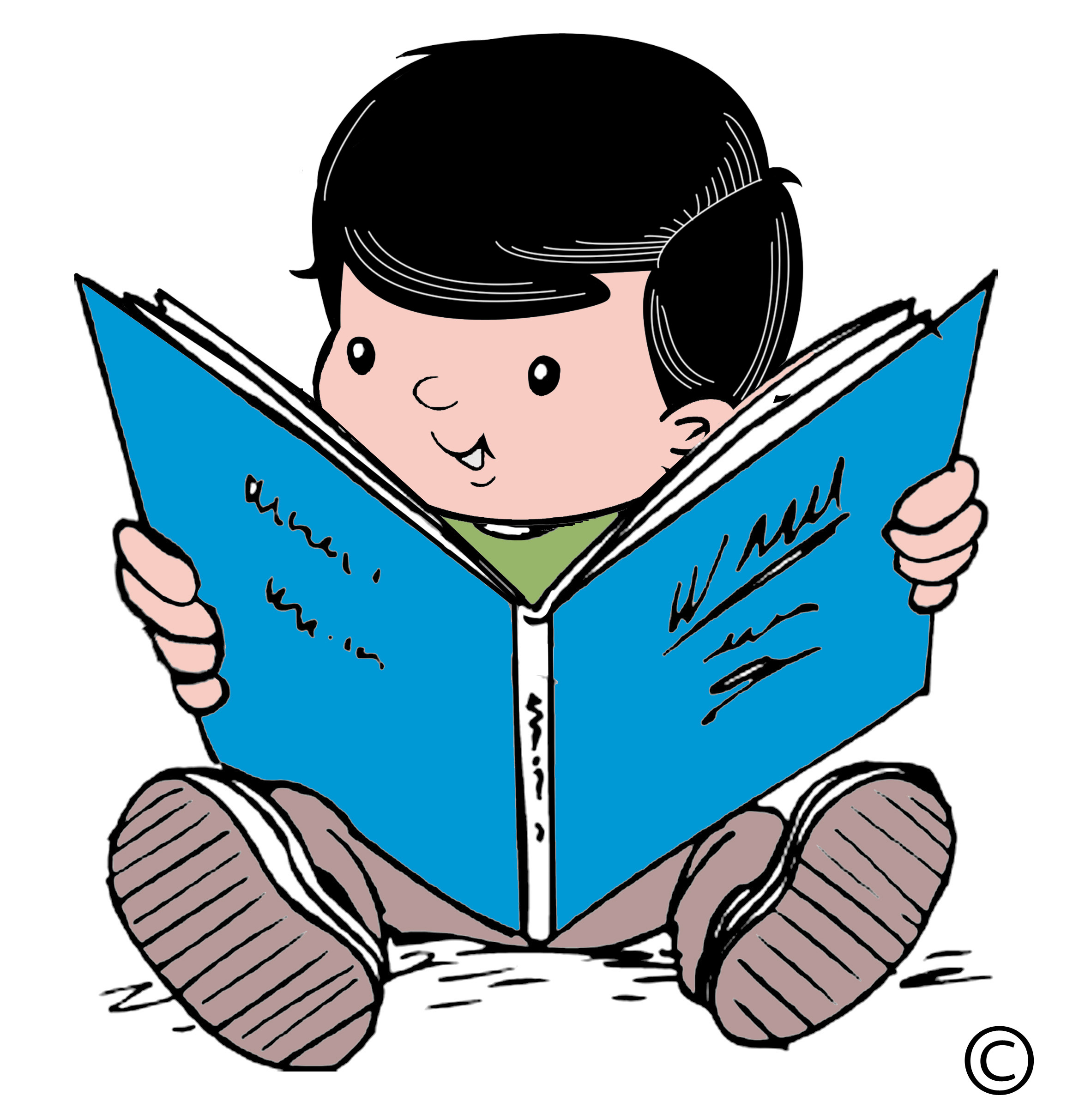 Reading Clipart-reading clipart-12