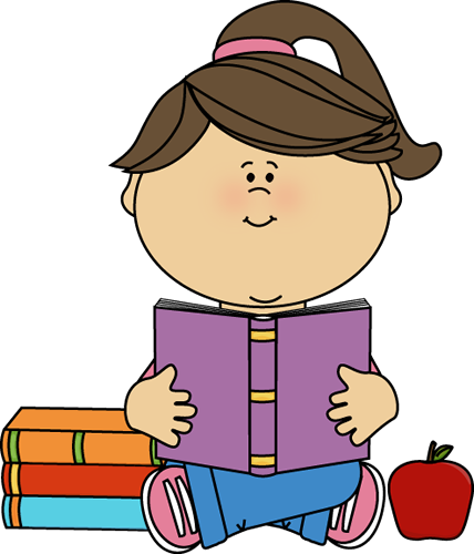 Reading Book Clipart. Debbies Digest: September 2013