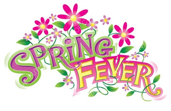 Spring clip art with The Firs