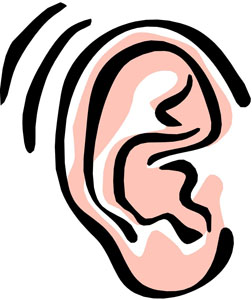Ready To Listen Clipart