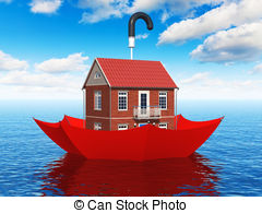 ... Real Estate Insurance Concept - Crea-... Real estate insurance concept - Creative real estate.-19