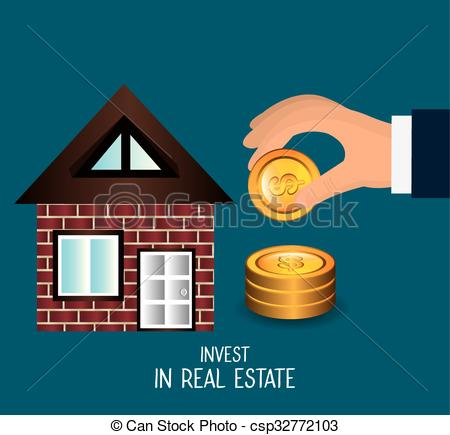 Real estate business investment - csp32772103