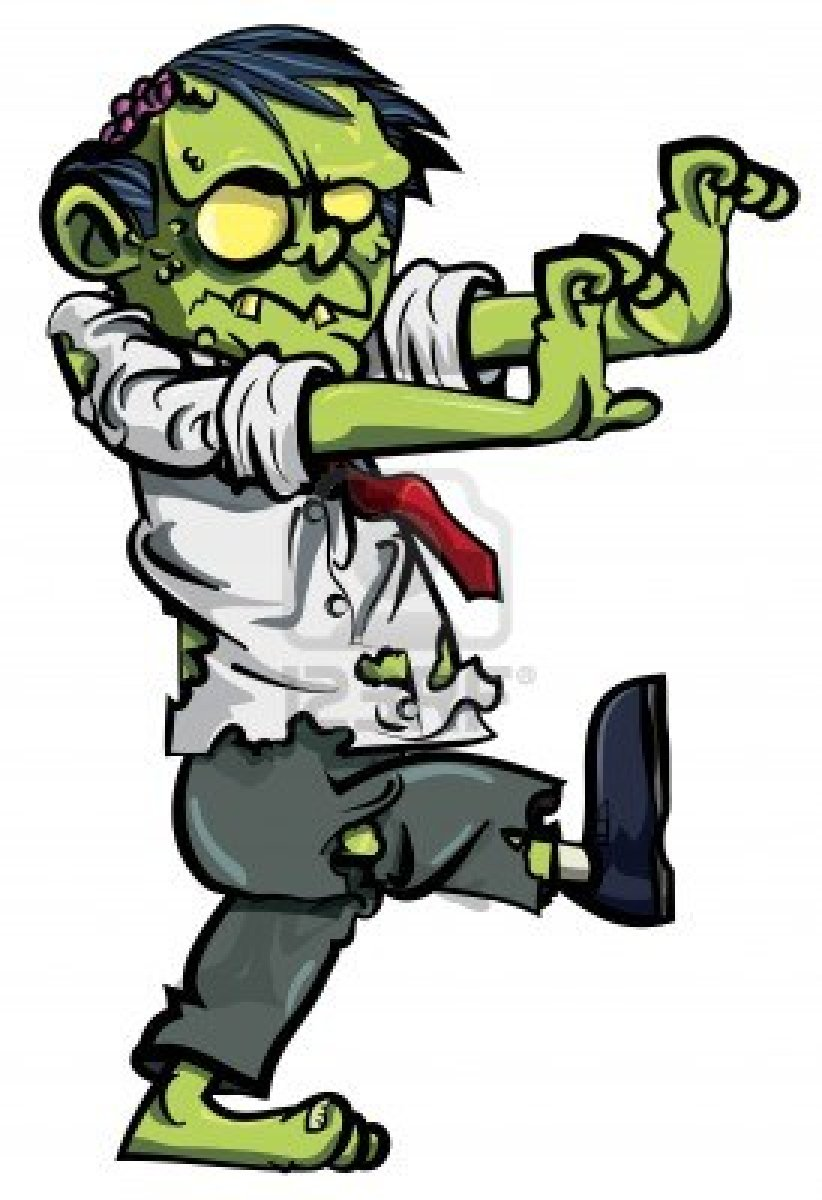 Real Zombie Clipart-Real zombie clipart-7