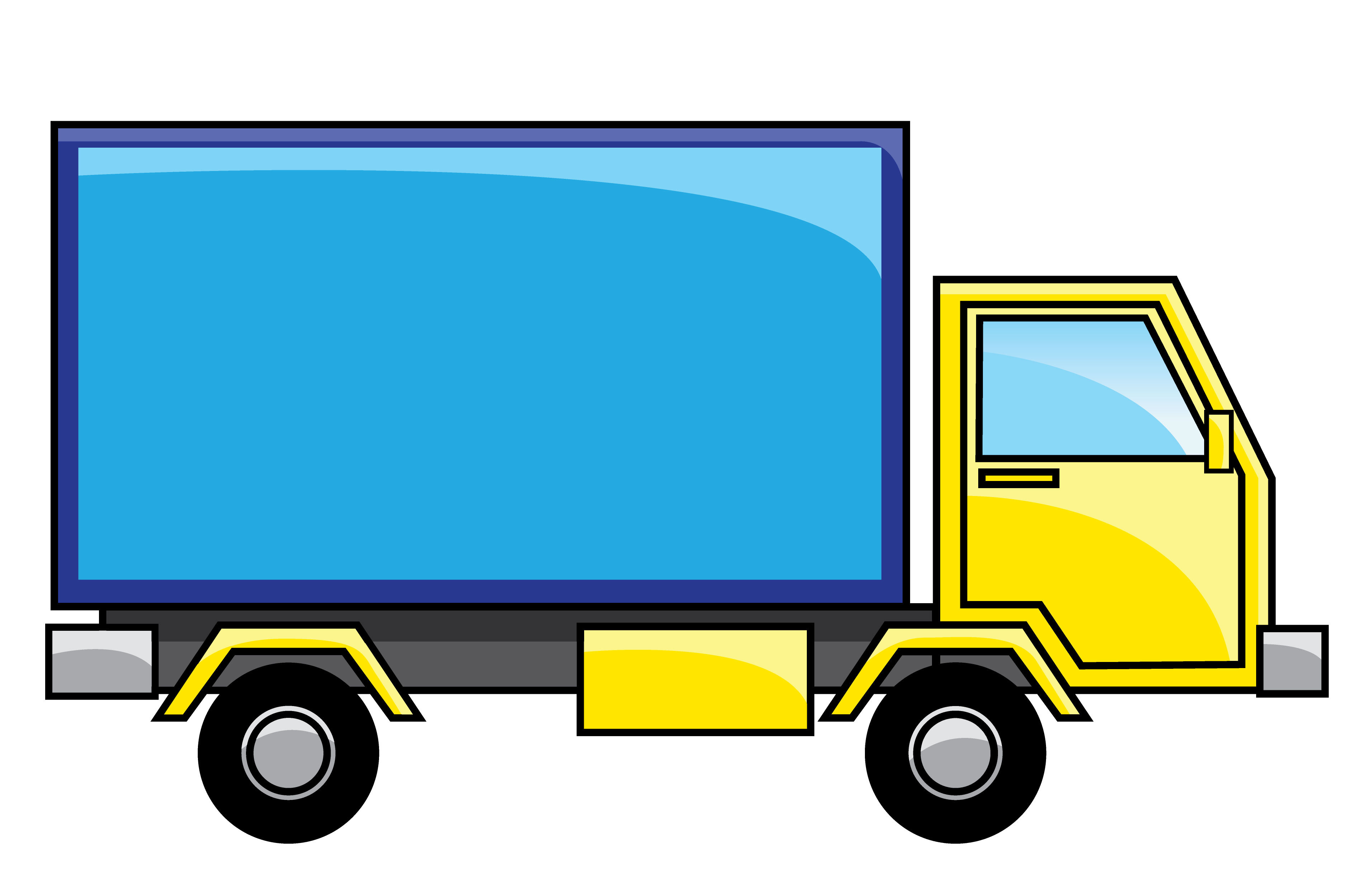 Realistic Moving Truck Clipart-Realistic Moving Truck Clipart-7