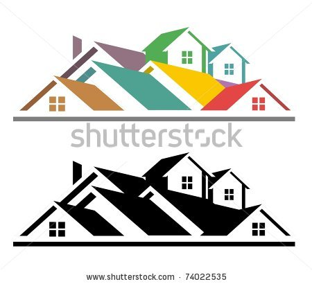 realtor clipart u0026middot; apartment building clipart black and white