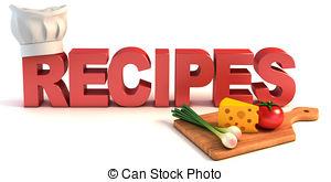 ... Recipes 3d Concept Illustration-... recipes 3d concept illustration-16