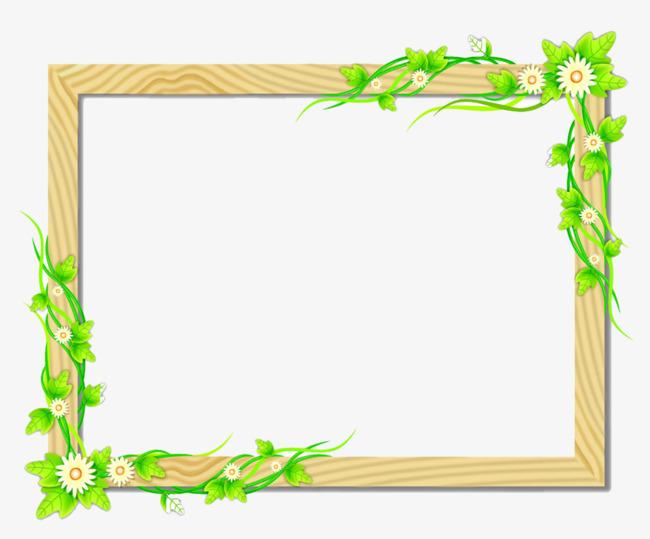 rectangular border, Flowers, Rectangle, -rectangular border, Flowers, Rectangle, Green PNG Image and Clipart-15