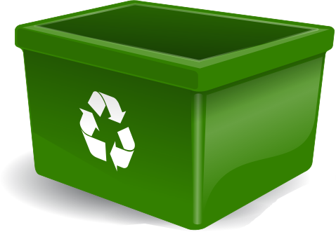 Recycle Bin Green Http Www Wp - Recycling Bin Clipart