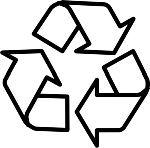 Recycle Clipart Black And .-Recycle clipart black and .-9