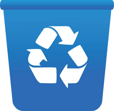 Free Green Recycle Bin Clip A