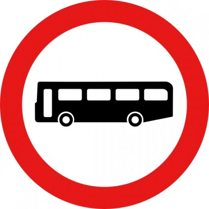 red bus clipart