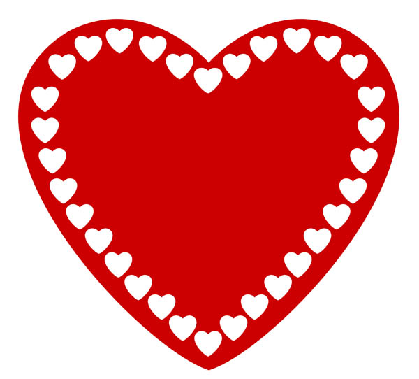 Red Heart Clipart-red heart clipart-16