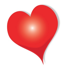 red heart clipart-red heart clipart-10
