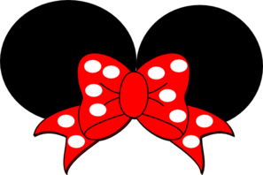 red minnie mouse clip art