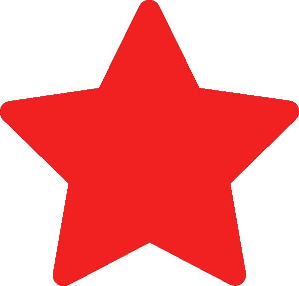 red star clip art