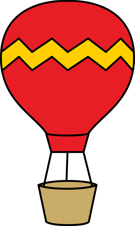 Red and Yellow Hot Air Balloon
