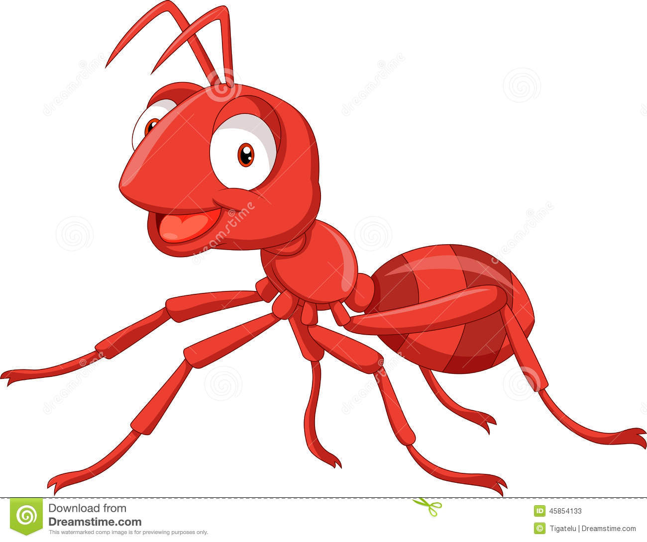 Red Ants Clipart