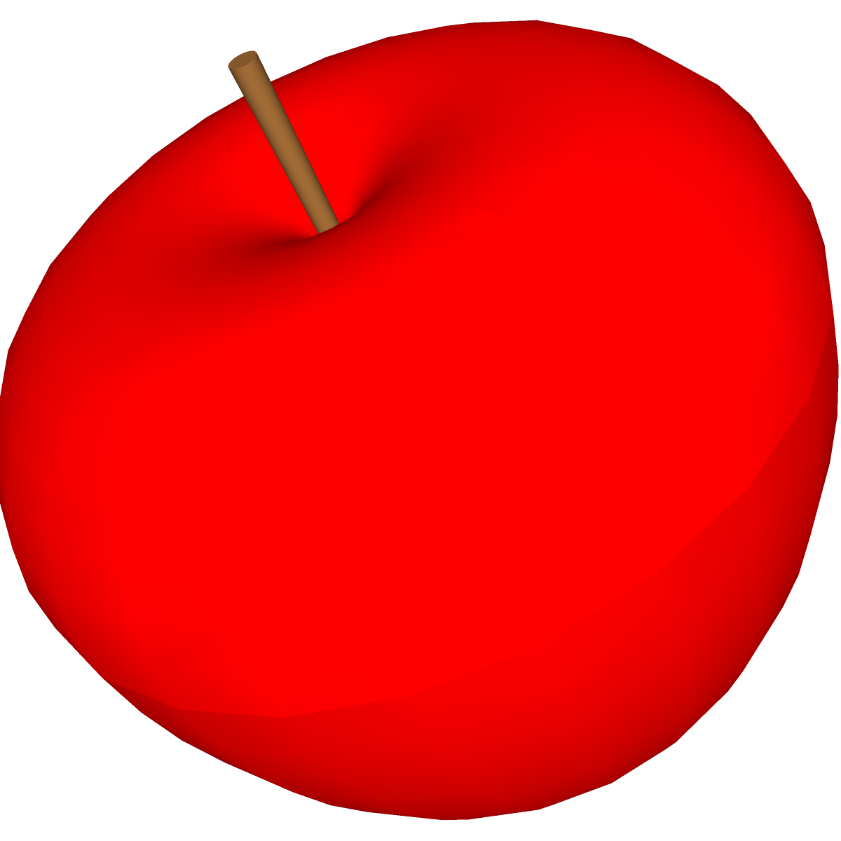 Red Apple Clip Art - Clipart library