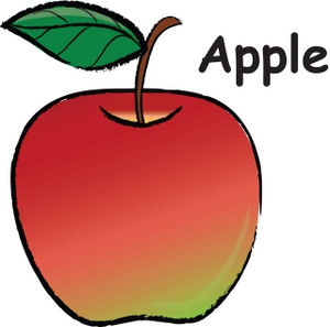 Red apple clip art clipart photo