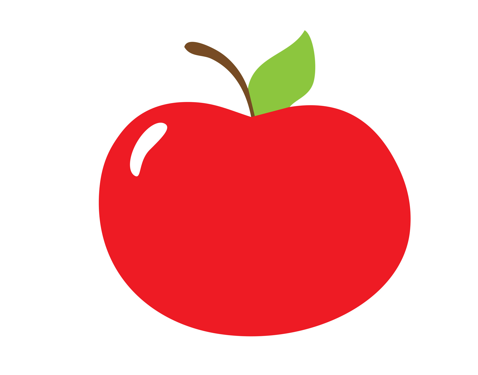 Red Apple Clipart - Clipart Of Apple