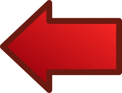 Red Arrows Set Left clip art