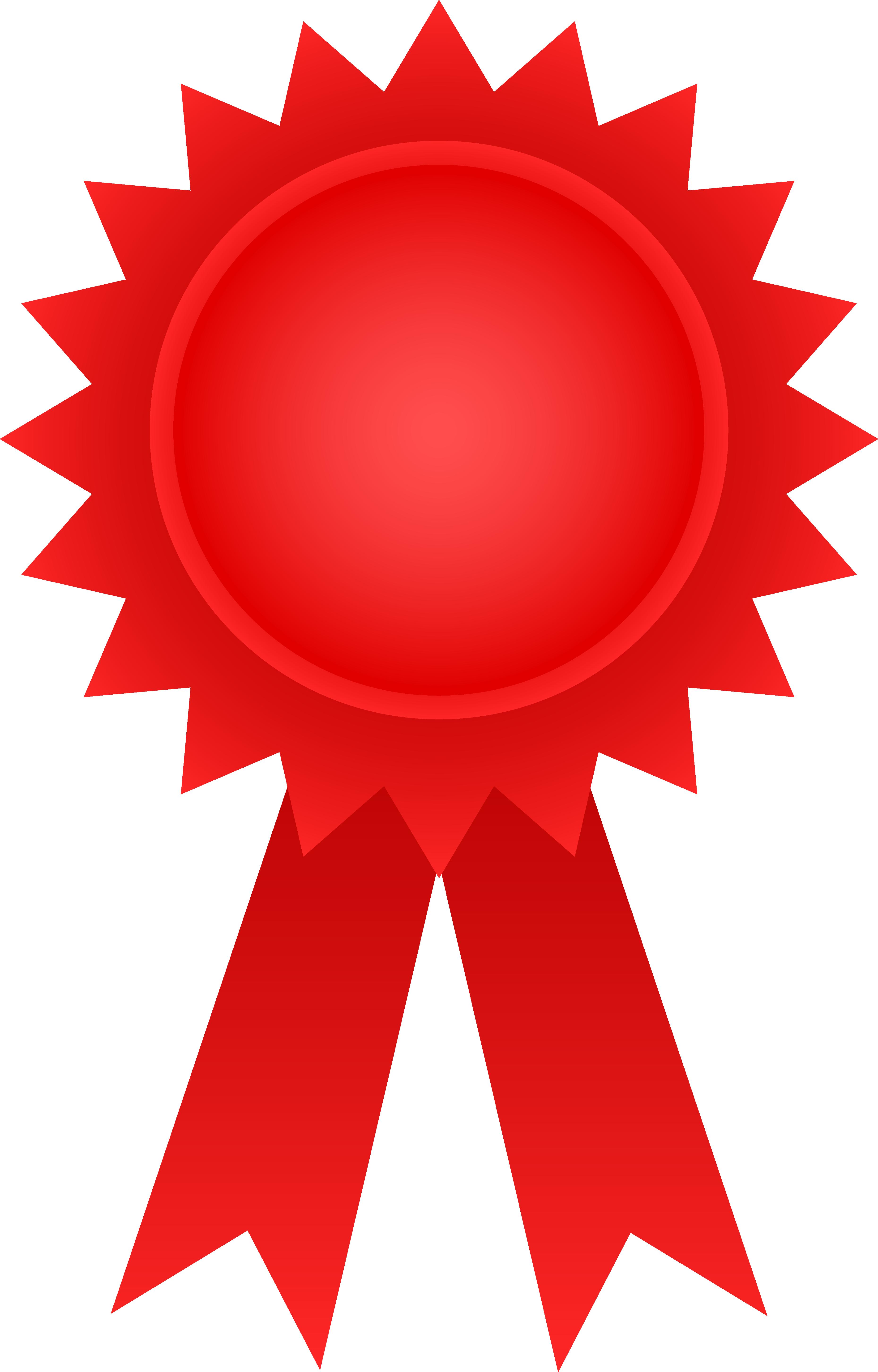 Red Award Ribbon - Free Clip .-Red Award Ribbon - Free Clip .-5
