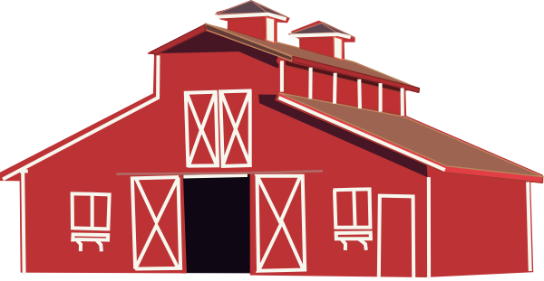 Red Barn Clip Art at Clker clipartall clipartall.com - vector clip art online, royalty