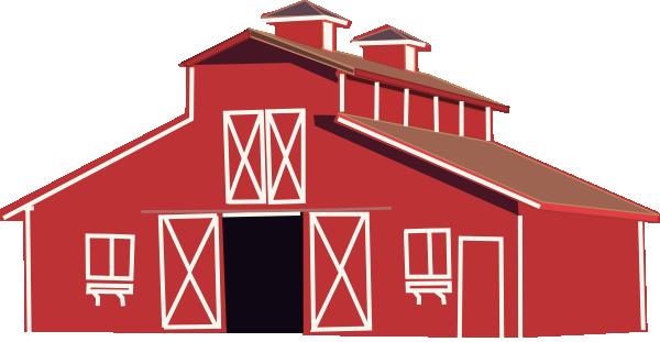 Red Barn Clip Art At Clker Com Vector Clip Art Online Royalty Free