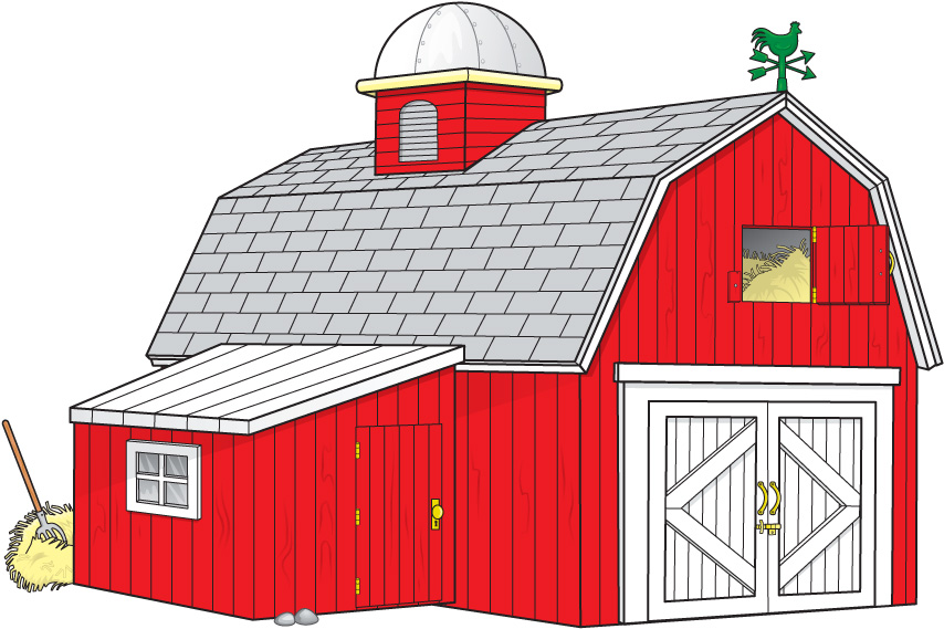 Red Barn Clipart Clipart Best
