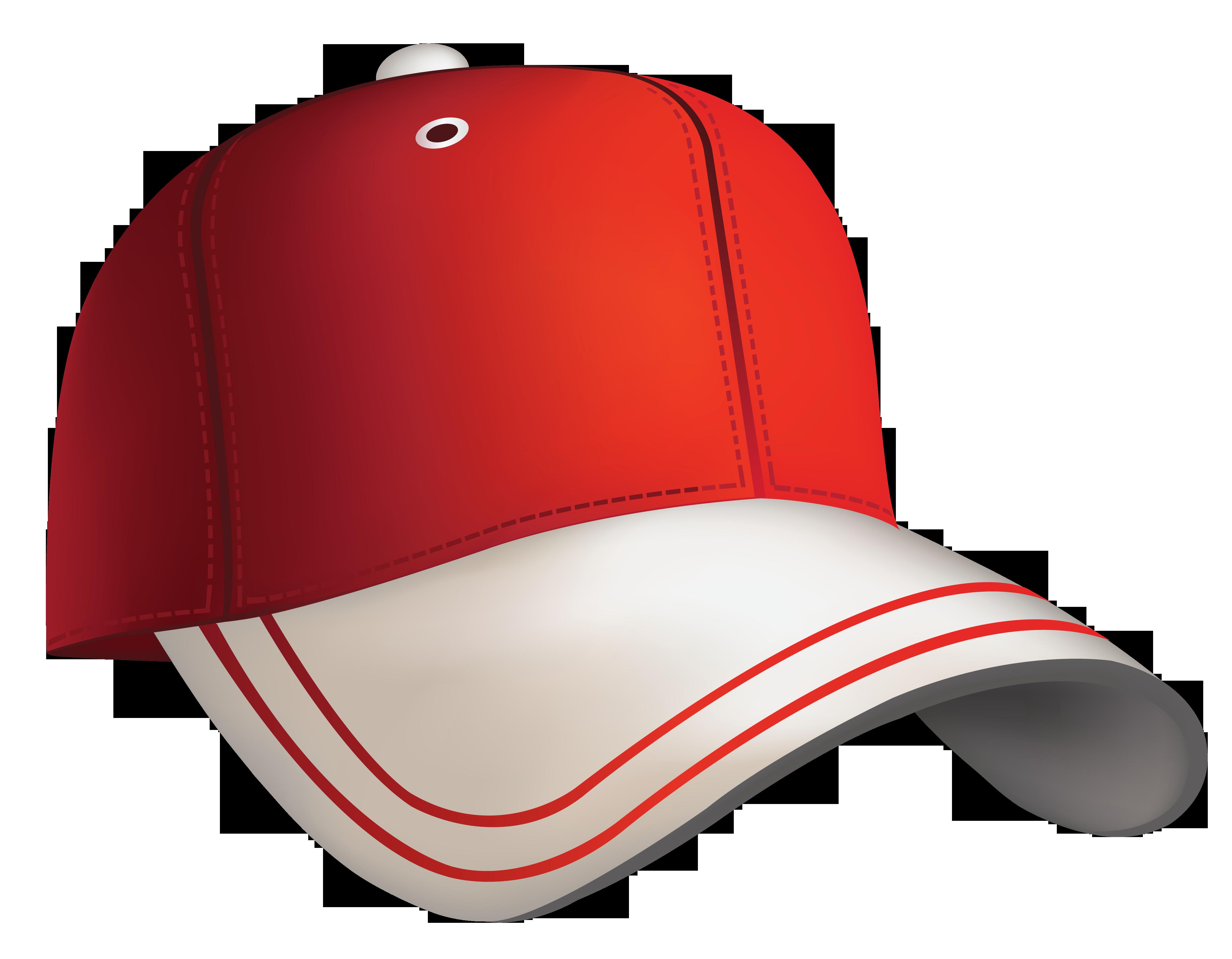 Red Baseball Cap Clipart-Red Baseball Cap Clipart-6