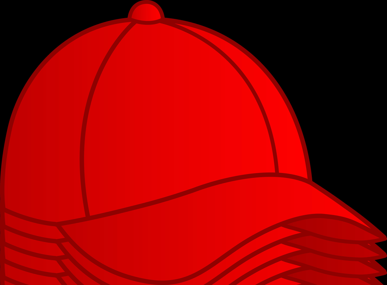 Red Baseball Cap - Free Clip .-Red Baseball Cap - Free Clip .-5