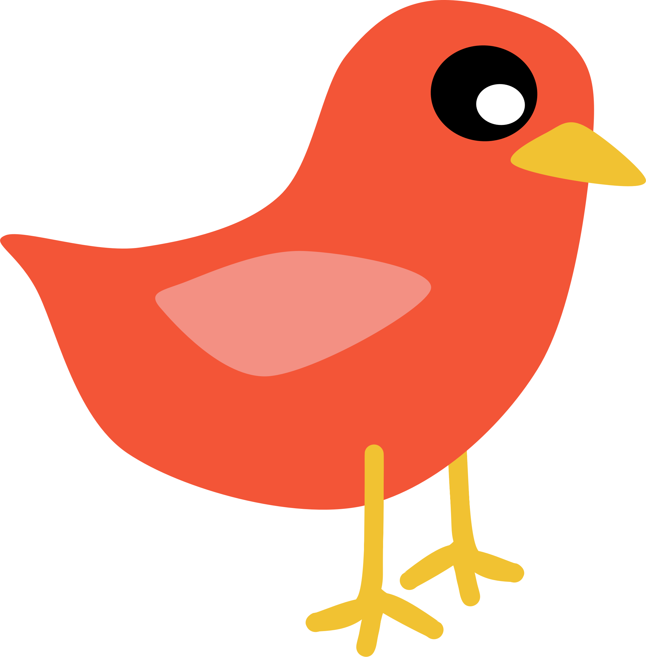 Red Bird By Scout - Red Bird Clipart